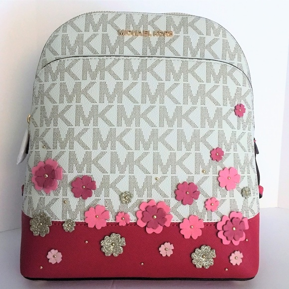 cf775a24d6be Michael Kors Emmy Small Backpack - Pink Floral NWT.  M 5adba2445521be173e090f33